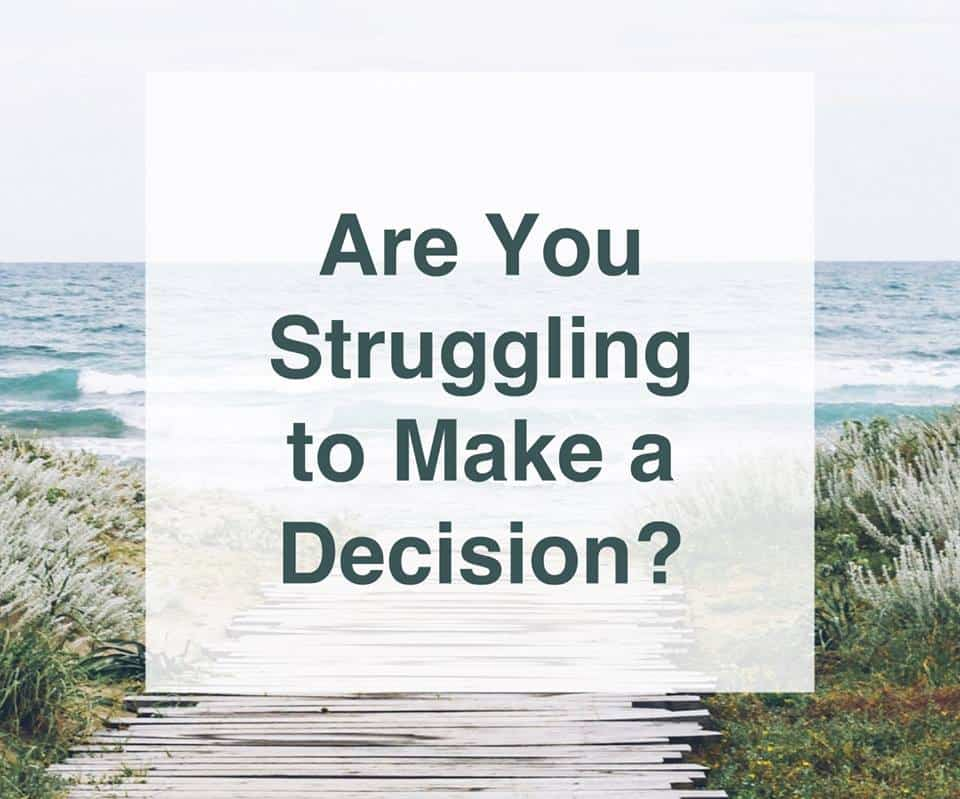 Are You Struggling To Make A Decision? I can't recommend Artemis Mindset Coaching highly enough.