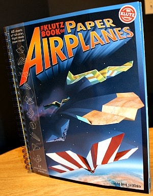 Klutz Book of Paper Airplanes - Two Brilliant Origami Book For Kids