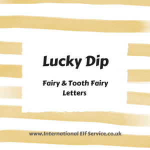 Lucky Dip SIMPLE Fairy Letters are a simple personalised letter perfect for early readers, or where 'less is more'. Order by number, and find out what it says when you get it! Fairy Fun from the International Fairy Service
