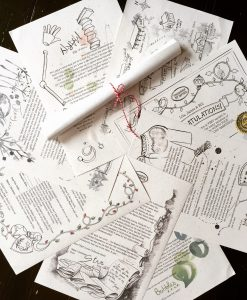 The North Pole Christmas Letters are a unique and fun Christmas tradition for the whole family to enjoy on the countdown to Christmas! Official map and certificate from the International Elf Service