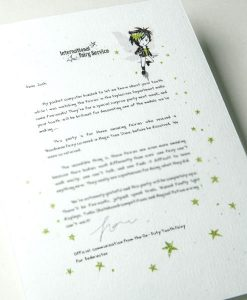 Tooth Fairy Letters No. 8. Fairies with special needs become heroes - By the gang of super cool tooth fairies at the international fairy service. Also available as a fairy letter. International Tooth Fairy Service