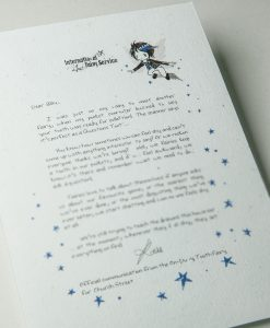 Magical Tooth Fairy Letters from a world of Secret Underground Passageways - International Fairy Service